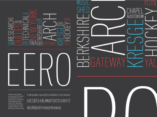 Eero Typeface Design